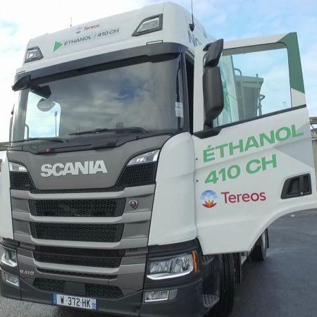 Camion Scania Éthanol pour Tereos