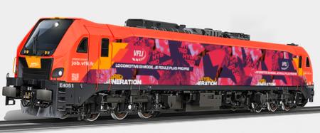 Locomotive hybride Stadler Eurodual de VFLI