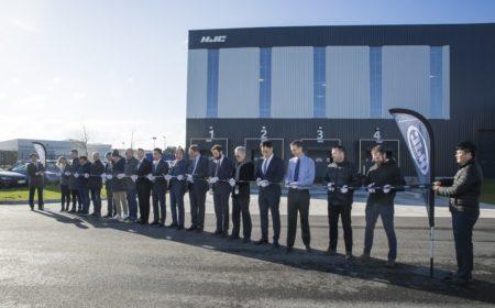 Inauguration entrepôt HJC à Reichstett