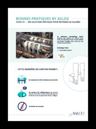Fiche Aslog : Solutions pratiques de protection des salariés