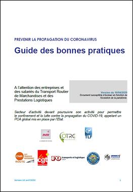 Guide paritaire des bonnes pratiques en TRM et logistique