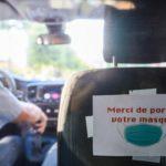 Mesure sanitaire lors des déplacements en voiture, Arnaud Bouissou / Terra