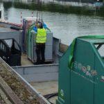 Navette fluviale ULS, Strasbourg ; Photo : VNF