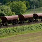 Train de fret ; Photo : Arnaud Bouissou / Terra